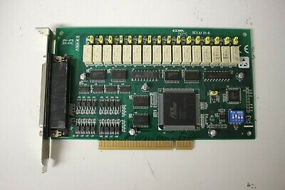PCI-1762 16ch Relay & Isolated Digital Input Card (NF220015)