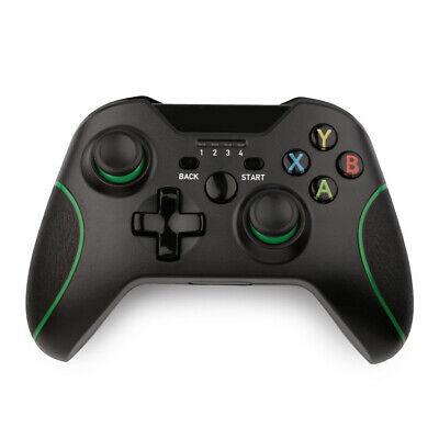 Wireless Controller Compatible with Xbox One, S, X Console - Black - Bluetooth