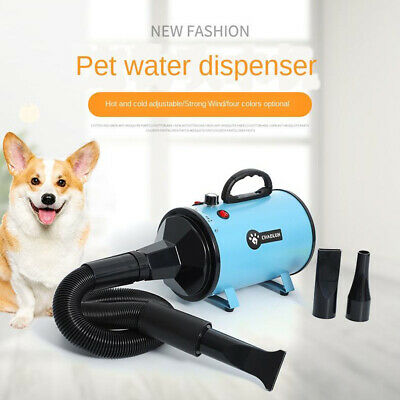 Professionale Potente Dog Pet Grooming Capelli Forza Dryer Blower w/ 3 Ugello