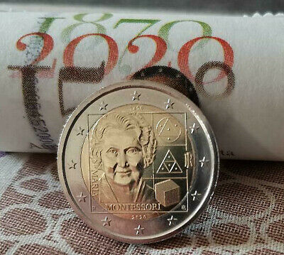 2 Euros Italia 🇮🇹 2020. Montessori. Ya disponible