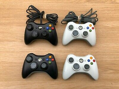 Genuine Official Xbox 360 Controller - Choose - White, Black, Wired, Wireless