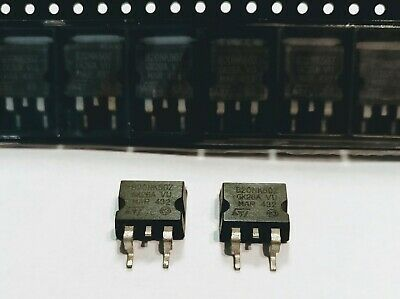 MOSFET N-Ch 500 Volt 20 Amp Pack of 10 STB20NM50T4