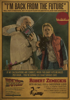 1985 Back To The Future Alternate Movie Poster/Print > Hill Valley High > McFly