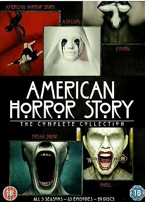 American Horror Story The Complete Collection/ALL 5 SEASONS/63 EPISODES/20 DISC