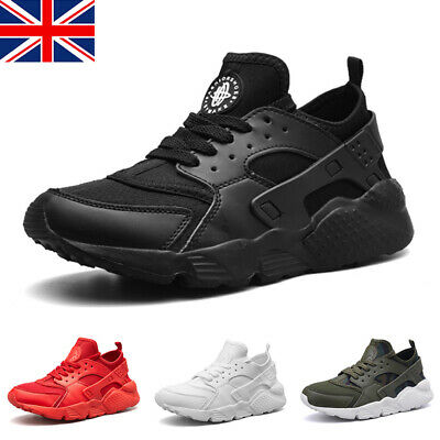 Mens Womens Running Sports Shoes Trainers Fitness Gym Casual Lace up Sneakers UK