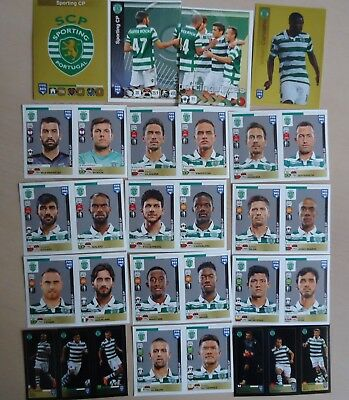 Foot PANINI stickers football FIFA 365 extra update set SPORTING CP Lissabon
