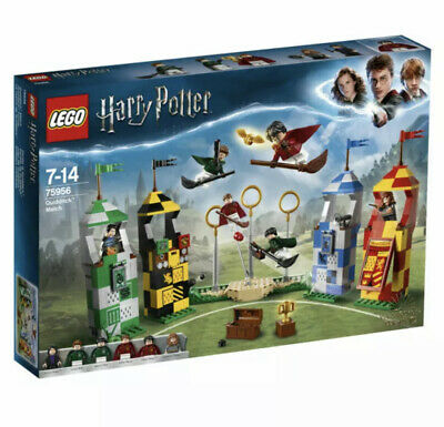 LEGO Harry Potter 75956 Quidditch Match (500 Pieces) - Brand New in Sealed Box