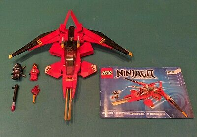 Lego Ninjago Kai Fighter 70721 With Minifigs And Instructions Not Complete 18 99 Picclick