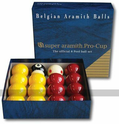 Aramith Professional Billiards Fun Training Ball Collection With Instruction Booklet Endorsed by Worlds Famous Coach and Instructor PRO CUP TV Training Cue Balls