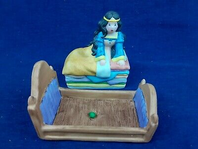 Vintage The Franklin Mint Maggie Murphy Princess and the Pea 1986