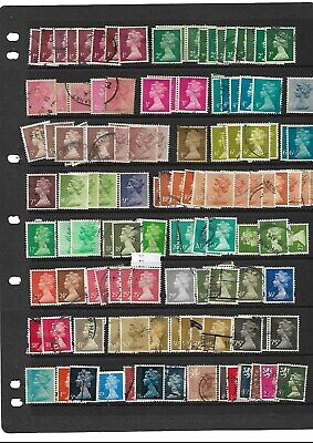 used machin definitives