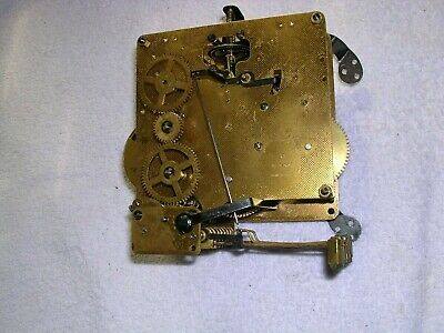 Clock  Parts,Good  Movement, 8 Hammers,Good  Working  Order