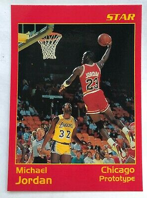 Michael Jordan Slam Dunk Star Company MJ Prototype / / Promo with Magic Johnson