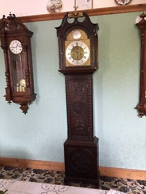 antique longcase grandfather clocks pre-1900 Montrose Maker.