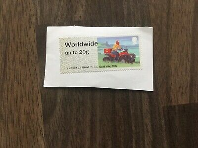 Quad Bike Worldwide Up To 20g Stamp - Unfranked on Paper