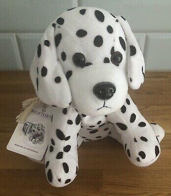 INTELEX WARMIES Microwavable Lavender Scented Dalmatian Soft Toy NEW with Tags