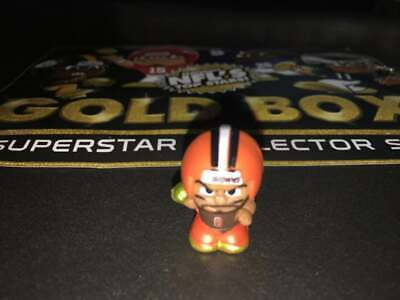 2019 NFL Teenymates GOLD BOX Baker Mayfield Cleveland Browns Party Animal