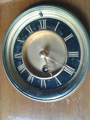 Old Mantle Clock Timepiece Brocot With Key
