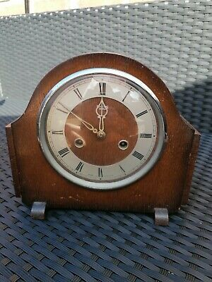 Fabulous Art Deco Smiths of Enfield  Chiming 8-day Mantle Clock (repair)