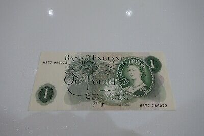 Bank Of England - 1982 One Pound Note - Page - Uncirculated