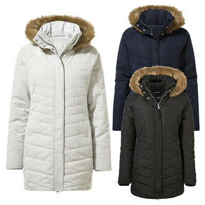 Craghoppers Womens Ardelle Insulated Parka Coat
