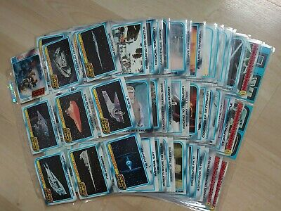 Vintage 1980 Topps Empire Strikes Back Trading Cards (Blue Border) - 128 of 132