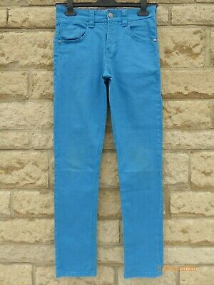 Boy's Next Blue Stretch Skinny Jeans Age 12 Years VGC