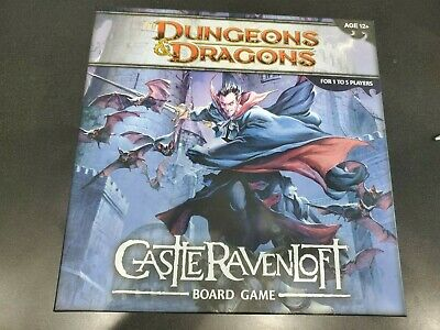 Castle Ravenloft Board Game SEALED UNOPENED FREE SHIPPING Dungeons and Dragons
