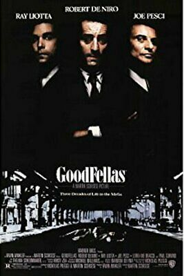 GOODFELLAS - CLASSIC MOVIE POSTER - 24 In x 36 In