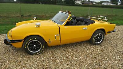 1976 Triumph SPITFIRE 1500 WITH OVERDRIVE Convertible Petrol Manual
