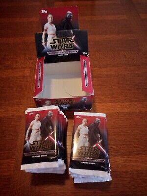 Display Starwars TCG Panini : The rise of skywalker / 25 boosters + 2 ouverts