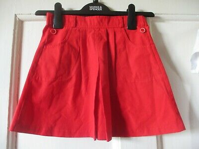 Vintage/ Retro/ Girls Ladybird Red  Skirt Age 4 height104 cm  Perfect For Summer