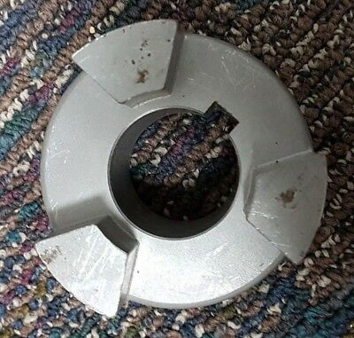"Lovejoy Jaw Coupling Hub 11848 Size LC110 1.563"" Bore, 3.31"" OD T1"