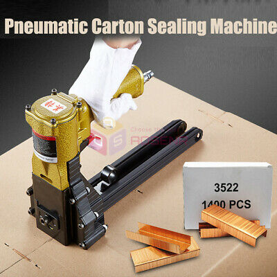 Pneumatic Nail Gun Carton Closing Stapler Package Sealing Machine Box Sealer