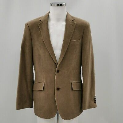 New Austin Reed Blazer Jacket Uk M Men S Light Brown Cotton Smart Casual 201921 6 99 Picclick Uk