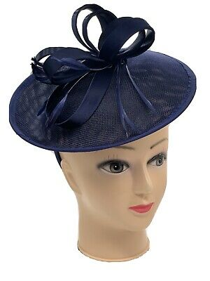 Navy Fascinator Hat