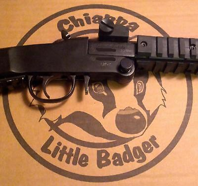 Little Badger LONGSHOT Vented Aluminum Barrel Cover CHIAPPA back packing