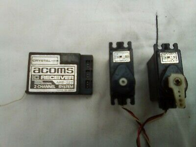 Suits Tamiya. AM 2 Channel 40MHz New Acoms AR-2//40 Receiver