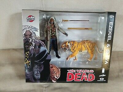 Mcfarlane Toys The Walking Dead Ezequiel /& Shiva 2-Pack Skybound