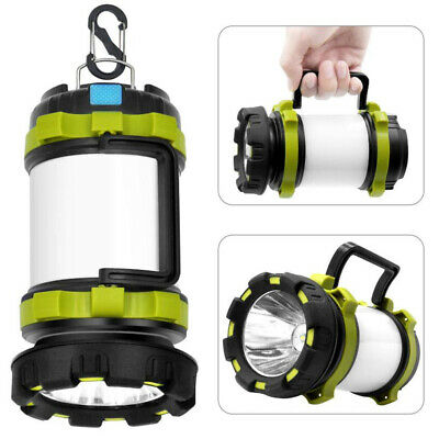 Rechargeable CREE LED Torch,Shayson Waterproof 1000 Lumen Camping Lantern,7 Modes Super Bright LED Searchlight Spotlight Flashlight for Emergency,Hiking,Camping