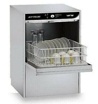 2020 Display Model Jet Tech Model 727e Compact Hi Temp Undercounter Dishwasher