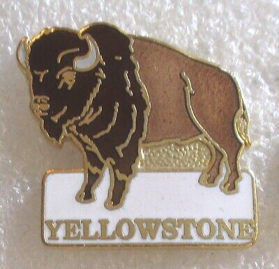 One YELLOWSTONE NPS  Pewter Collector Token Bison National Park  Old Faithful