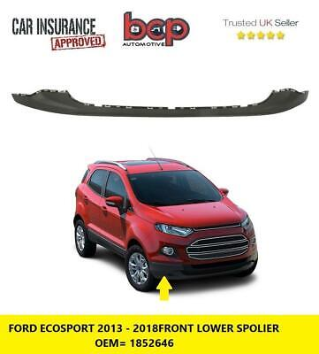 Front Bumper Towing Eye Cover Insurance Approved UK Seller Ford Ecosport 2018