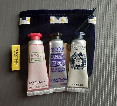 Details about L'OCCITANE EN PROVENCE HAND CREAM TRIO COLLECTION NEW 3x30ml CHERRY ALMOND SHEA