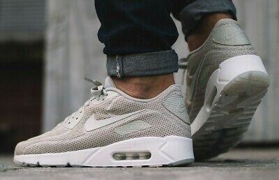 NIKE AIR MAX 90 Ultra 2.0 BR Men's Size 9.5 Pale Grey 898010-002 ...
