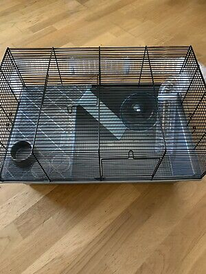 Grey Large Wire Hamster Cage Pets At Home 10 00 Picclick Uk