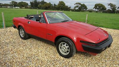 1982 Triumph TR7 CONVERTIBLE MANUAL OVER DRIVE Convertible Petrol Manual