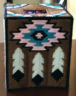 South West Handmade Plastic Canvas Tissue Box Cover Indian Native American 17 99 Picclick,Drawing Diy Phone Case Design Black And White