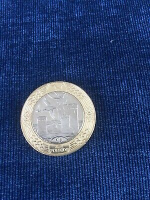 2018 Isle of Man Tower of Refuge £2 coin - 20,000 Minted
