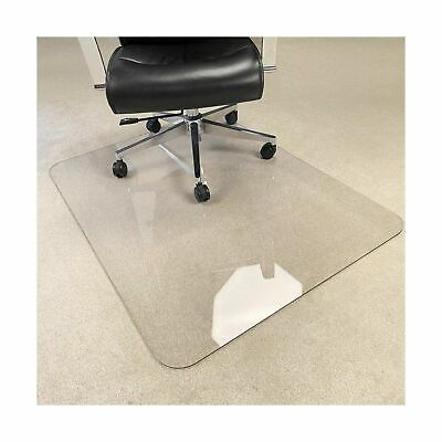"""[Upgraded Version] Crystal Clear 1/5"""" Thick 47"""" x 35"""" Heavy Duty Hard Chair M..."""